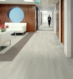 Expona Control Flooring from Polyflor, developed for use in public areas where there is a risk of spillage or temporary surface water that could make the floor unsafe. http://www.barbourproductsearch.info/polyflor-unveils-new-flooring-concept-news018969.html
