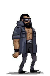 Pixel Art by Diego Sanches, via Behance