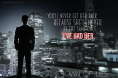 CROWN OF LIES IS LIVE!! Read this twisty sexy romance today :)
