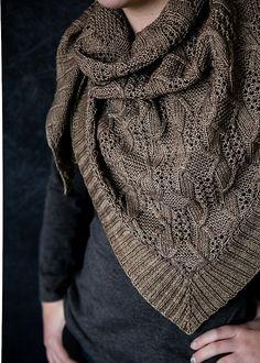 12 Shawls to Knit this Fall - knitting accessory , 12 Shawls to Knit this Fall 12 Shawls to Knit this Fall - Wooly Ventures Stricken. Loom Knitting, Knitting Patterns Free, Knit Patterns, Knitting Needles, Knitting Scarves, Scarf Knit, Stitch Patterns, Knit Or Crochet, Crochet Shawl