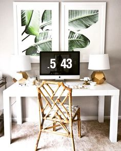 Still not over this whole #tropical, #junglevibes trend. Love the simple framed…