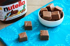 nutella fudge. NUTELLA FUDGE!