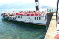 Ferry in Lake Como
