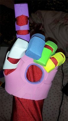 Plastidip on foam armor