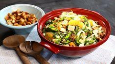 Středomořský salát Jambalaya, Kung Pao Chicken, Sprouts, Feta, Vegetables, Ethnic Recipes, Bulgur, Lasagna, Vegetable Recipes