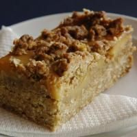 Aurora Cafe's Anzac caramel slice - Photo by Linda Robertson. Easy and yum! Very rich so slice small