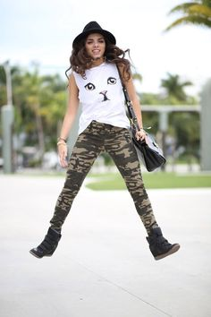 Camouflaged Kitty... ( Leggings )   ...........click here to find out more     http://googydog.com