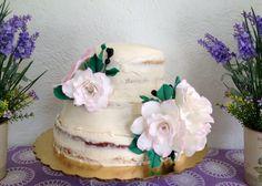 Vintage rustic wedding cake by Arte, Amor y sabor Repostería personalizada.