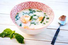 Spicy Thai Coconut Shrimp Soup