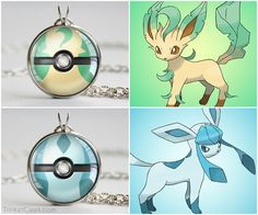 "Pokemon Eeveelution pokeballs, Leafeon ball and Glaceon ball <a class=""pintag searchlink"" data-query=""%23sinnoh"" data-type=""hashtag"" href=""/search/?q=%23sinnoh&rs=hashtag"" rel=""nofollow"" title=""#sinnoh search Pinterest"">#sinnoh</a> <a class=""pintag searchlink"" data-query=""%23eevee"" data-type=""hashtag"" href=""/search/?q=%23eevee&rs=hashtag"" rel=""nofollow"" title=""#eevee search Pinterest"">#eevee</a> <a class=""pintag searchlink"" data-query=""%23treatsforgeeks"" data-type=""hashtag"" href=""/search/?q=%23treatsforgeeks&rs=hashtag"" rel=""nofollow"" title=""#treatsforgeeks search Pinterest"">#treatsforgeeks</a>"