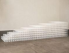Sol Le Witt - Open Geometric Structure - IV 1990