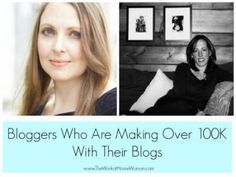 Want to make money with your blog? Find out the hottest tips and tricks from bloggers who are making over six figures with their blogs!