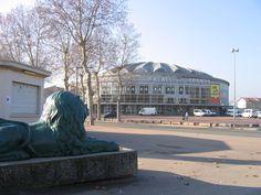 Palais des sports-Lyon, France 2006- photo personelle