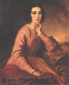 Györgyi, Alajos - Portrait of Mária Bencsik (1854).jpg