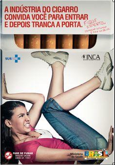 campanha contra tabagismo - Pesquisa Google