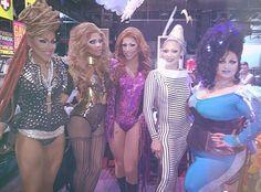 Puerto Rican Royalty: Yara Sofía, Lineysha Sparx, Jessica Wild, April Carrión, Madame LaQueer
