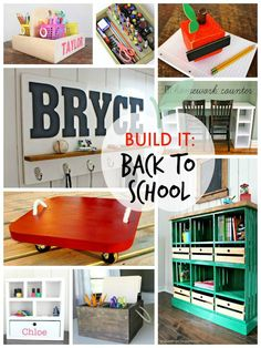 That's My Letter: Build It: Back to School