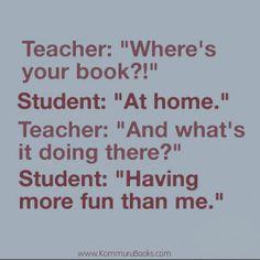 Clever student :) lol www.KommuruBooks.com