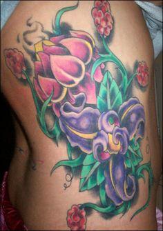 miami ink flowers - Поиск в Google
