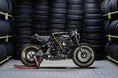 Release the Kraken - Iron Pirate Ducati 750SS cafe racer ~ via returnofthecaferacers.com