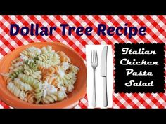 This simple salad only has 4 ingredients and would be a great side dish to any meal. Enjoy! My idea for this series of Dollar Tree Recipes is to challenge my...
