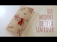 DIY Midori de tela sin coser. TUTORIAL FÁCIL | Pega Papel o Tijeras