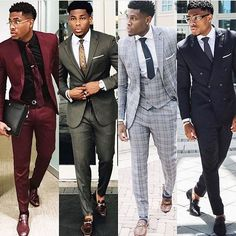 Instagram media by iamcaez - Dress everyday like it's fashion week. . . Which look is your favorite ? #lawyerbae