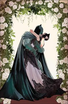 Art and colors by for the DC Comic book, Batman coming out soon. Catwoman and Batman are getting married. Batgirl, Batman Et Catwoman, Im Batman, Batman Art, Joker, Batwoman, Batman Love, Superman 1, Batman Stuff