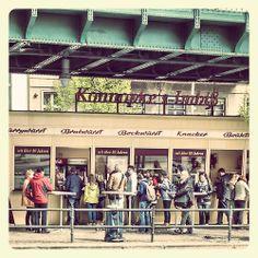 legendary currywurst: Konnopke's Imbiss / berlin prenzlauer berg - http://fasanelli.tumblr.com