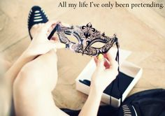 Image shared by Find images and videos about cute, mask and masquerade on We Heart It - the app to get lost in what you love. Broadway Quotes, Theatre Quotes, 5 Inch And Up, The Longest Ride, Eyes Wide Shut, Cool Masks, Gossip Girl, Playing Dress Up, Beauty And The Beast