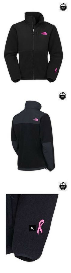 North Face WOMEN'S PINK RIBBON DENALI FLEECE JACKET TNF BLACK - Clearance price before #Xmas!
