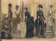 i love historical clothing: victorian women's fashion