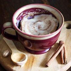 New recipe up on the blog! Paleo Cinnamon Bun in a Mug