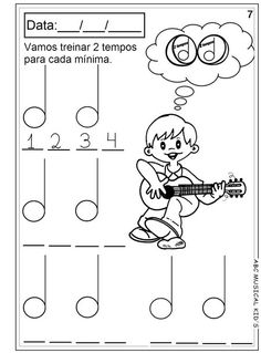 Pedagogia Musical volume 1 Music Class, Music Education, Music Worksheets, Music For Kids, Music Games, Music Theory, English Lessons, Piano Music, Guitar Lessons