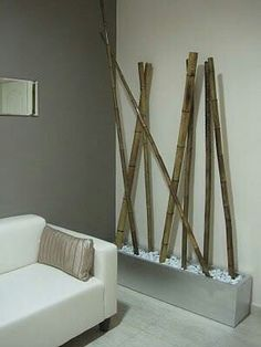 detalle Bamboo House Design, Zen Room, Meditation Rooms, Garden Deco, Home Staging, Home Furniture, Living Room Decor, Diy Home Decor, House Styles