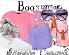 Boo summer outfit by Disneybound