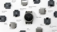 The world's first modular smartwatch Blocks will let you build your own wearable technology, adding features into the watch band.