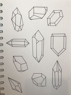 Gem Drawing, Crystal Drawing, Herb Art, Bottle Drawing, Drawing Letters, Art Journal Techniques, Art Corner, Flash Art, Bullet Journal Inspiration