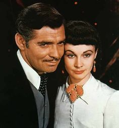Gone with the Wind - Clark Gable with Vivien Leigh