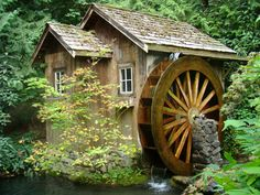 Old Mill waterwheel