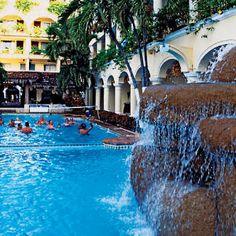 Sunset magazine - Puerto Vallarta for less Los Arcos Puerto Vallarta, Vallarta Mexico, Dream Vacations, Vacation Trips, Vacation Spots, Mexico Vacation, Mexico Travel, Places To Travel, Places To See