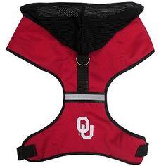 NCAA Oklahoma Sooners Dog Harness