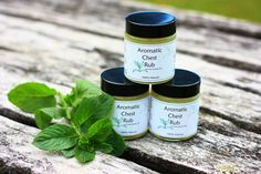 Our Aromatic Chest Rub is a natural cooling and soothing herbal balm that includes pure Menthol as well as pure Essential Oils of Camphor and Eucalyptus. The oils are in a natural vegetable base of olive oil, with beeswax. Chest Rub, Pure Essential Oils, Handmade Soaps, Olive Oil, The Balm, Herbalism, Hair Care, Base, Pure Products