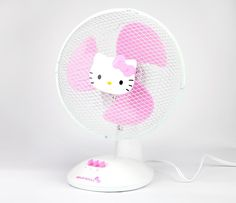 Hello Kitty Table Fan: Face from Sanrio. Shop more products from Sanrio on Wanelo. Hello Kitty Rooms, Hello Kitty House, Sanrio Hello Kitty, Hello Kitty Kitchen, Desktop Accessories, Home Accessories, Wonderful Day, Hello Kitty Accessories, Hello Kitty Pictures