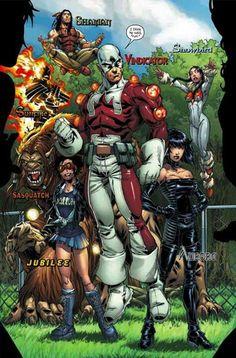 Marvel Comics: Alpha Flight (Ultimate Alpha Flight...weird.)