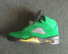 5a85325c41e8 Newest Air Jordan 5 Oregon Ducks PE - Mysecretshoes New Nike Air