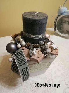 Minden, Napkin Rings, Decoupage, Christmas, Home Decor, Xmas, Decoration Home, Room Decor, Navidad