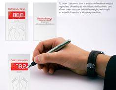 Renato França Personal Trainer's Define your weight business card. | StockLogos.com