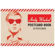 Andy Warhol Postcard Book from Galison. #AndyWarhol #Galison #EvansAndHall #Art
