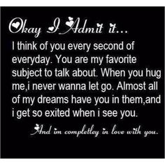 For my boyfriend :) I love you baby your the best